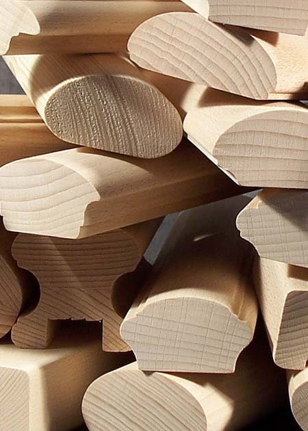 Handläufe Holz