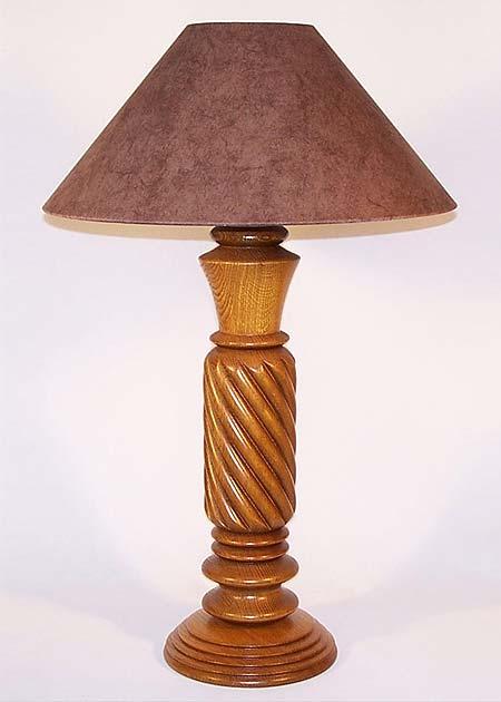 Tischleuchte Holz Toscana